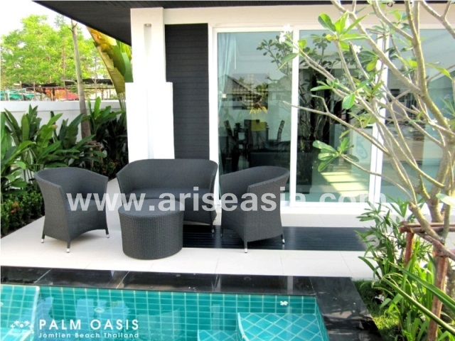 2 bedrooms house for sale in jomtien